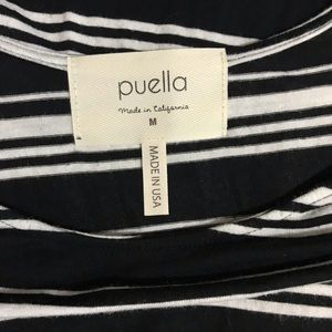 Anthropologie Tops - Anthropologie Puella Striped Tunic Top